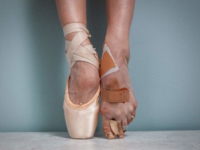 пуанты ноги
