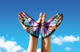 бабочки_руки